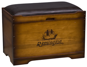 Trunk Burned Remington® logo