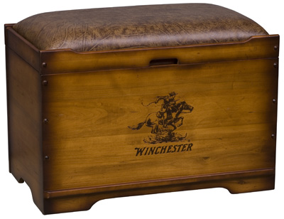 Trunk Burned Winchester® logo