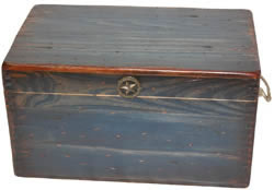 Large Ammo Box in Blue Finish