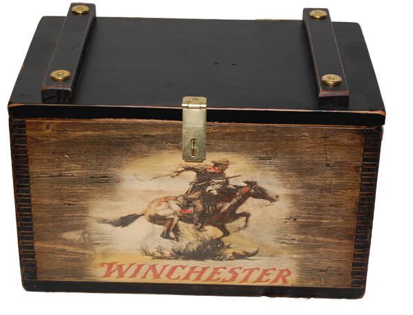 Large Ammo Box w/ Black Finish