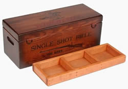 Gunning Box with Tray