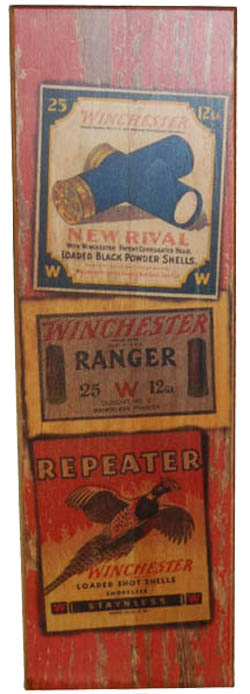 Winchester Labels Sign