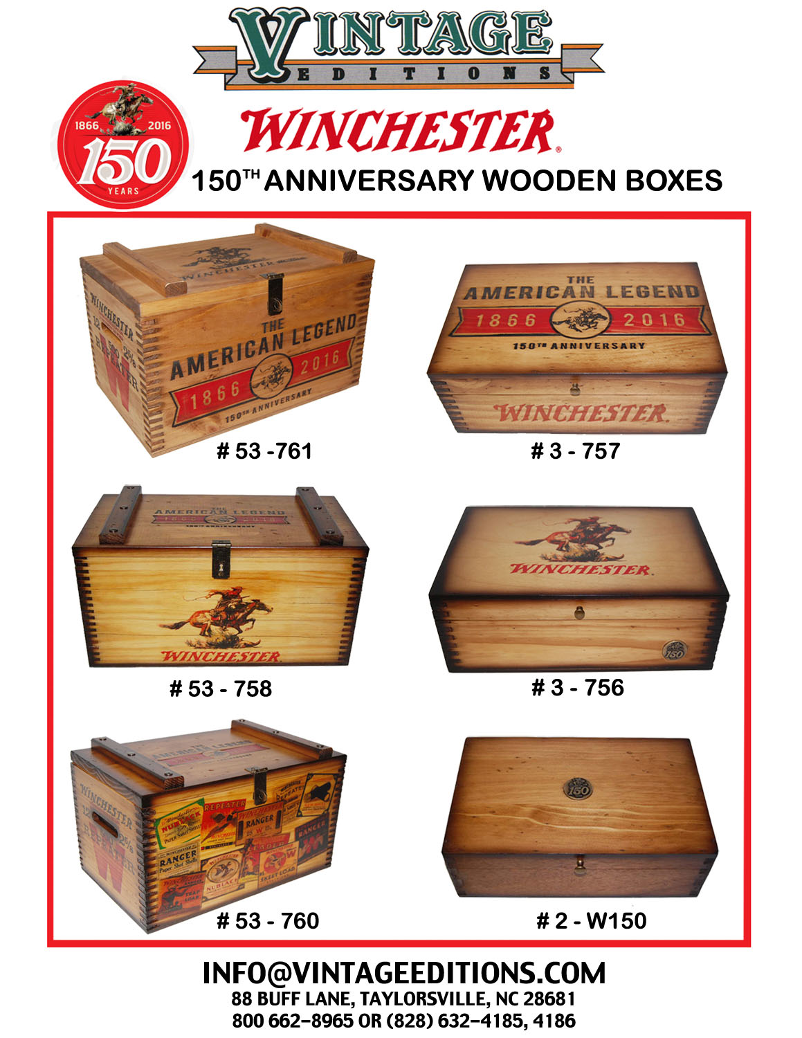 Winchester Product Sheet(150th)